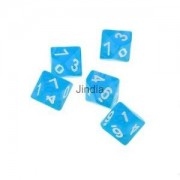 Alcoa Prime New 5pcs/Set TRPG Games Dungeons & Dragons D10 Multi Sided Dices Set - Blue