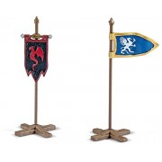 Schleich Flag Set For Knights
