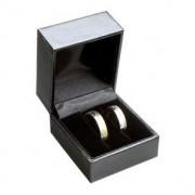 Koženková dárková krabička na snubní prsteny LC-2/NA/A25
