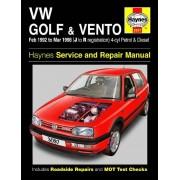 Haynes Werkplaatshandboek VW Golf & Vento benzine & Diesel (Feb 92 - Mar 98) J to R 3097