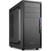 Sharkoon VS4-V Midi-Toren Zwart computerbehuizing