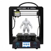 Anycubic I3 mega Premium impresora 3D kit de impresora w / pantalla tactil TFT (enchufe de la UE)
