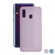 Samsung Mobilhölje Samsung Galaxy A40 färg flytande - färg: rosa