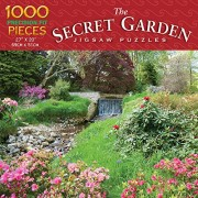 Luv-it Puzzles The Secret Garden - Waterfall Adventure Jigsaw Puzzle (1000 Piece)