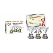 Avant-Garde Brands Ltd £7.99 (from Avant Garde) for a trophies and certificates set!