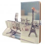Bolsa tipo Carteira Série Glam para Nokia 6.1 - Torre Eiffel