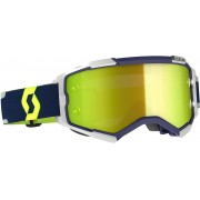 Scott Fury blue/grey Motocross Goggles - Size: One Size
