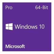 Microsoft Windows 10 Professional 64-bit, OEM DVD, Single Copy