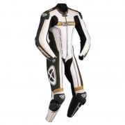Ixon Zenith Jeden kus koženého obleku 48 Černá Bílá Zlatá