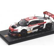 Audi R8 Lms Ultra N.1 Model Car In 1:43 Scale By Spark