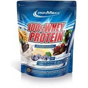 ironMaxx 100% Whey Protein 2350g Beutel - Blaubeere-Käsekuchen