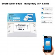 Smart Sonoff Basic - Inteligentný WiFi spínač