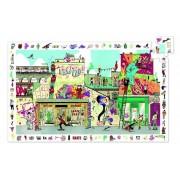 Puzzle observatie Street art