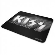 Kiss Metal Logo Mouse Pad, Mouse Pad