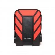 """HDD extern ADATA, 1TB, HD710 Pro, 2.5"""", USB 3.1, plastic si silicon, rezistent la socuri, rosu"""