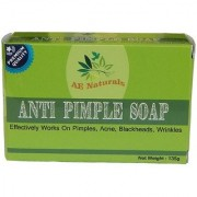 AE Naturals Premium Anti Pimple Soap For Radiant Skin 135g Pack of 2