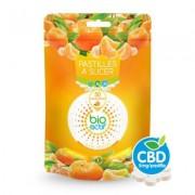 BioActif Pastilles de CBD à la Mandarine (50 x 5 mg) (Bioactif)
