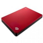 "External HDD 2TB 2.5"" Backup Plus Slim Red + калъф STDR400"