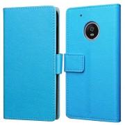 Just in Case Wallet Motorola Moto G5S Book Case Blauw
