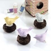 Ambientador hogar pájaro nido en caja regalo