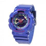 reloj de senora genuino casio baby-g azul serie BA-112-2A generacion de nina-azul