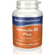 Simply Supplements Fórmula 50 Plus - 120 Comprimidos