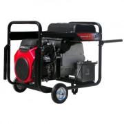Generator trifazat de curent electric AGT 16003 HSBE R16 , motor HONDA , demaror electric 12 V