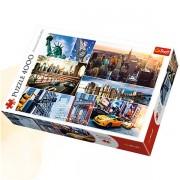 Trefl Puzzle Slagalica Collage New York 4000 kom (45006)