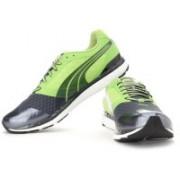Puma Faas 500 v2 Running Shoes For Men(Grey, Black, Green)