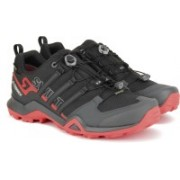 ADIDAS TERREX SWIFT R2 GTX Outdoor Shoes For Men(Black, Red)