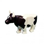 Lego Cow with Black Spots - Lego Animal Figure