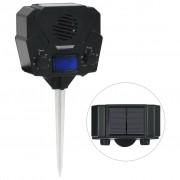 vidaXL Solárny ultrazvukový odpudzovač zvierat aktivovaný pohybom
