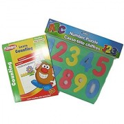 Numbers Learning Toy Set with PlaySkool Learn Counting and Foam Set of Numbers 0-9 PS-003
