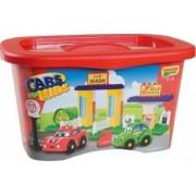 Unico Cars for Kidz galetusa 37 piese
