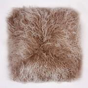 Perna cu piele de oaie LW Tibetan 50x50cm Velvet Shell