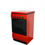 Aragaz Metalica 1685 F4 ROSU 4 Arzatoare Alimentare Gaz Capacitate cuptor 46 l Rosu