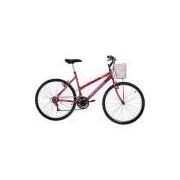 Bicicleta Houston Foxer Maori Aro 26 21 Marchas Vermelha