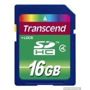 SD Card, 16GB, Transcend SDHC, Class4 (TS16GSDHC4)