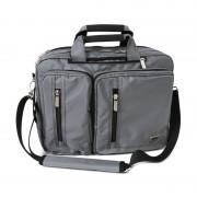 Platinet Kingstone Messenger Bag - чанта с презрамка за преносими компютри до 15 инча (сива)