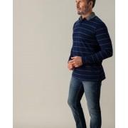 Gentlemen Selection Poloshirt mit Streifen marine male 56