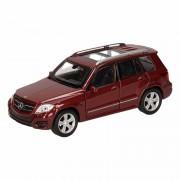 Mercedes Speelgoed bruine Mercedes-Benz GLK auto 12 cm