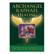 Doreen Virtue Archangel Raphael Healing Oracle Cards: A 44-Card Deck and Guidebook