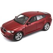 Bburago BMW X6 m Black 1-18 Diecast Car Model