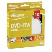 DVD+RW MEMOREX 4X 4,7GB 120MIN