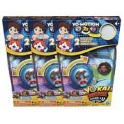 Yo-Kai Watch Pack de 3 montres à double projection Yo-Kai Watch Modèle U (Saison 3)