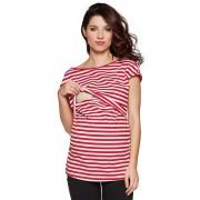 Daisy kismama és szoptatós trikó, piros XL