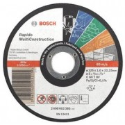 Discuri de taiere drepte Multi Construction D=115mm G=1mm