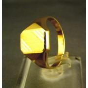 Zlatý pánsky prsteň žlté zlato VP60283Z