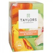 Taylors Of Harrogate Green Tea White Hibiscus & Peach