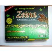 Shagun Gold Black Ziena Paste - indian temporary fake tattoo natural herbal body art Mehandi 24 Pcs.